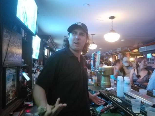 Bartender from last year. Sadly, he was absent this year.